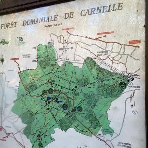 Plan forêt Carnelle