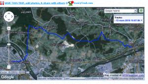 Une randonnée de 22 km sur les hauteurs de la vallées de la Seine