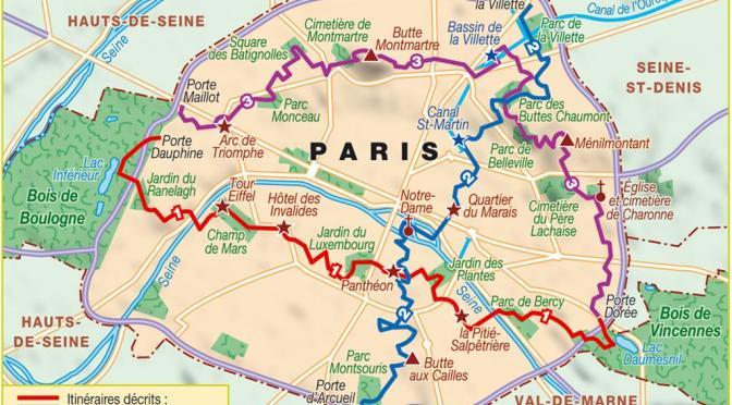 TP1 Traversée de Paris Nord – Sud en randonnée