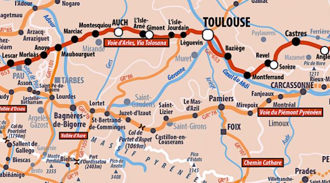 Voie d'Arles, 955 km de Roman (et) d'aventure vers Compostelle