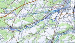 randonnée dans l'Essonnes (91)