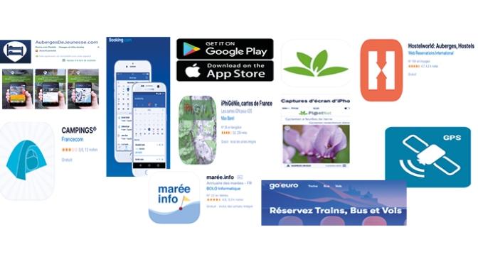 Les 10 App smartphone indispensables en randonnée