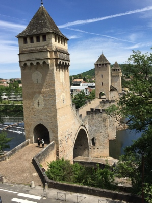 Pont médiéval Cahors GR65 - compostelle:optimisation-image-wordpress-google-taille