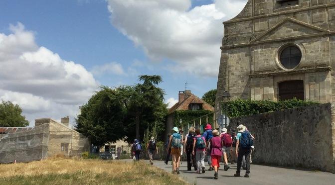 Rando-découverte du Vexin depuis par Vaux sur Seine