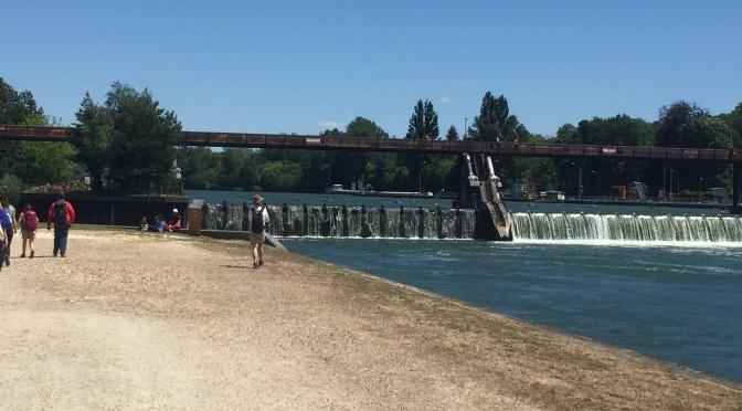 Idées rando :  les méandres de la Seine sur le GR2 depuis Melun (77)