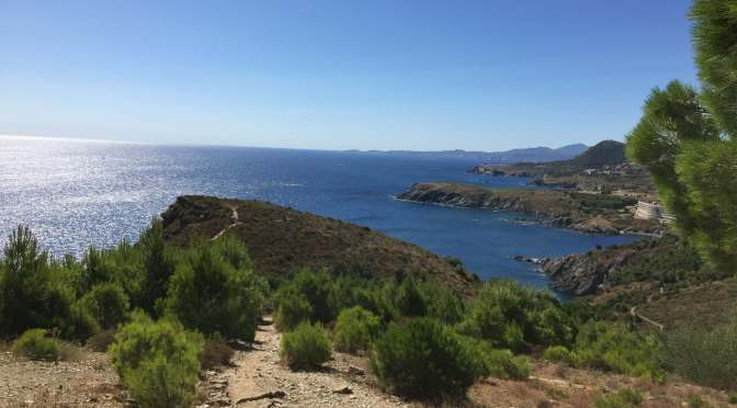Rando Banyuls : Sentier littoral et boucle du Vall POMPO
