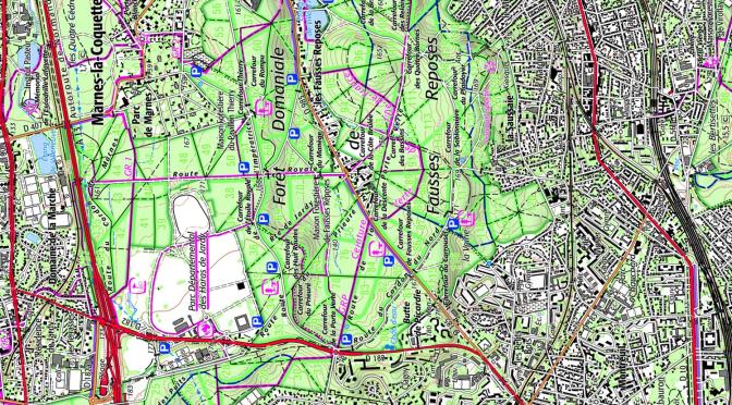 Géoportail, OpenStreetmap, Google..  quel bon fond de carte numérique en randonnée ?