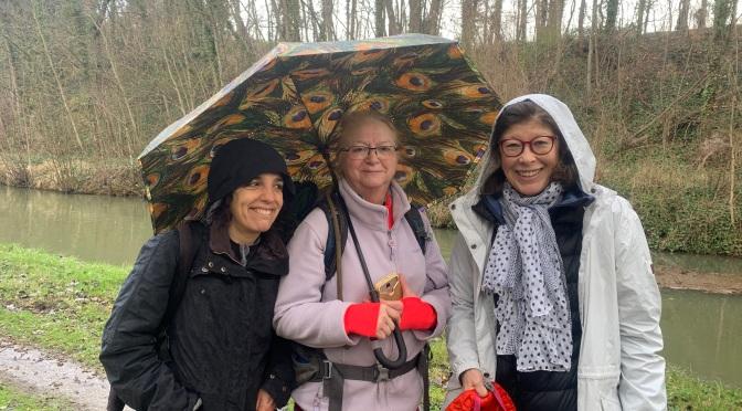 Matos : Le parapluie en rando, ringue ou dingue !?